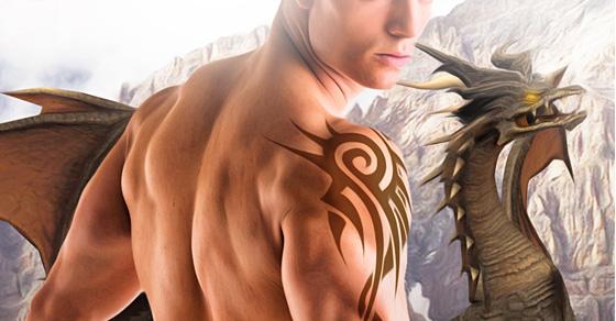 The Dragon's Mate – A BBW interracial Dragon Shifter Romance
